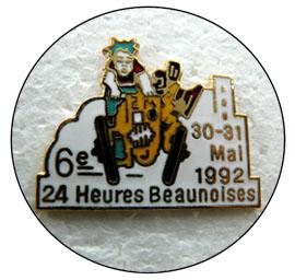 6eme 24h beaunoises 92