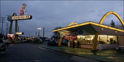 Le plus vieux restaurant McDonald's