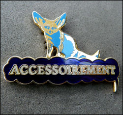 Accessoirement bleu