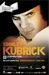 Affiche cinematheque kubrick