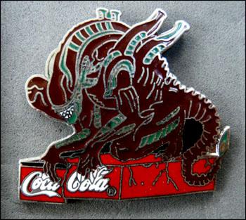 Alien coca cola 1