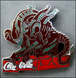 Alien coca cola 2