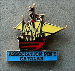 Association pin s catalan