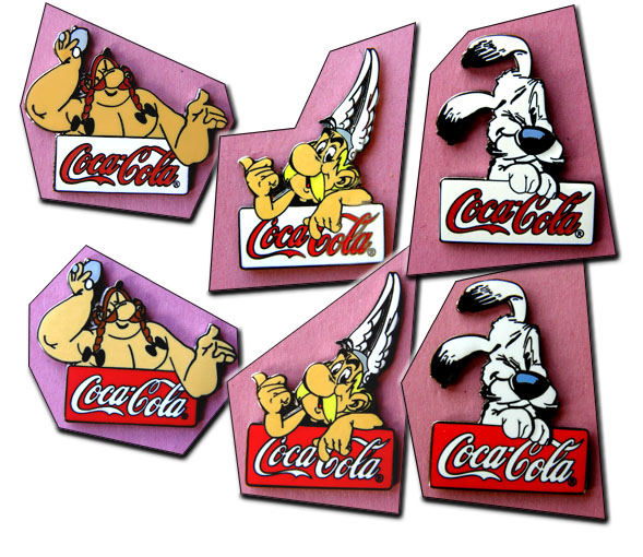 Asterix coca cola