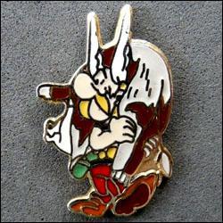 Asterix revenant de la chasse 250