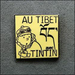 Au tibet avec tintin jaune 250