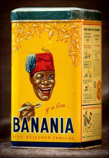 Banania boite metallique