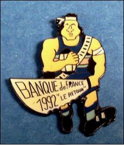 Banque de france 1992 le retour