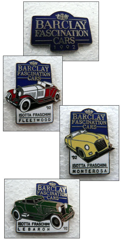Barclay fascination cars