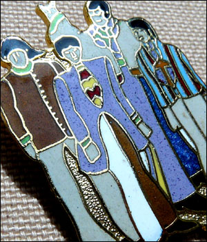 Broche beatles 6