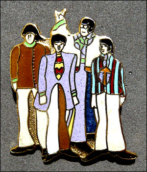 Broche beatles 7