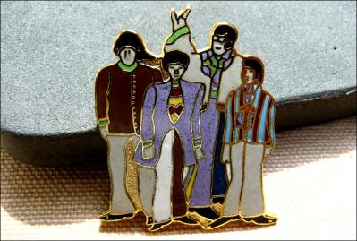 Broche beatles 8