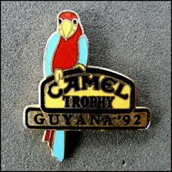 Camel trophy guyana 92 perroquet 250