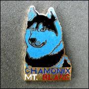 Chamonix mt blanc husky