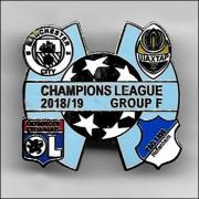 Champions league groupe f 2018 2019 bleu ciel