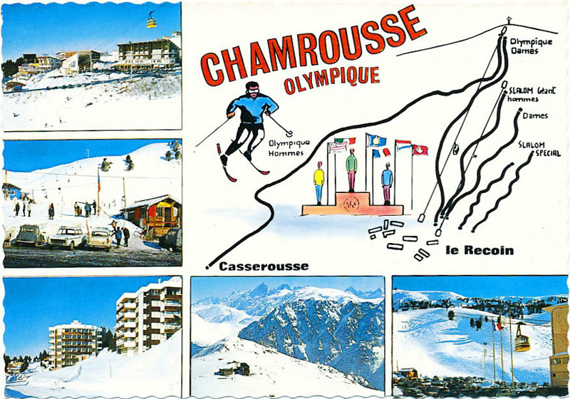 Chamrousse olympique accueil