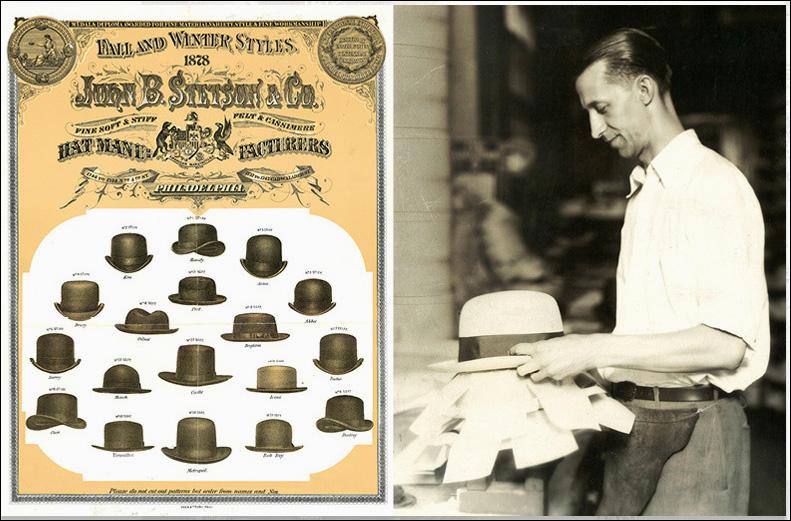 Chapeau stetson historique