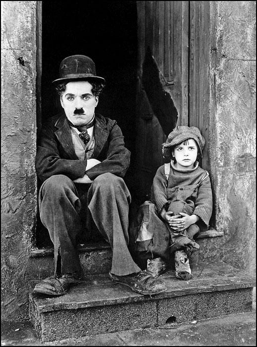 Chaplin the kid