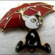 Chat parapluie 2
