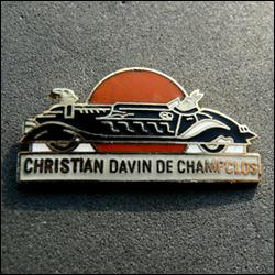 Christian davin de champclos