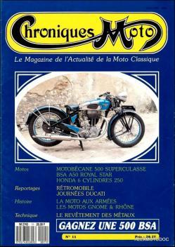 Chroniques moto n 11