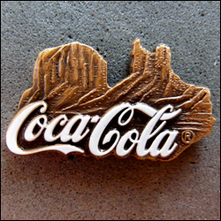 Coca cola monument valley