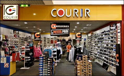 Courir magasin