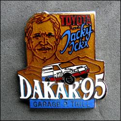 Dakar 95 jacky ickx