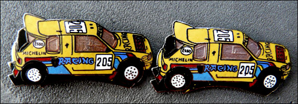 Esso 205 racing