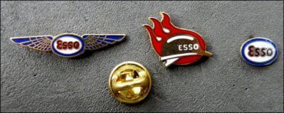 Esso 3 logos