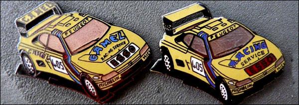 Esso 405 camel et racing