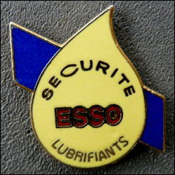 Esso securite lubrifiants