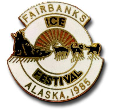 Fairbanks ice festival alaska 1985