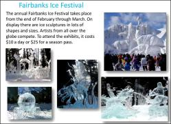 Fairbanks ice festival