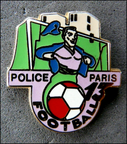 Football police paris 13 face