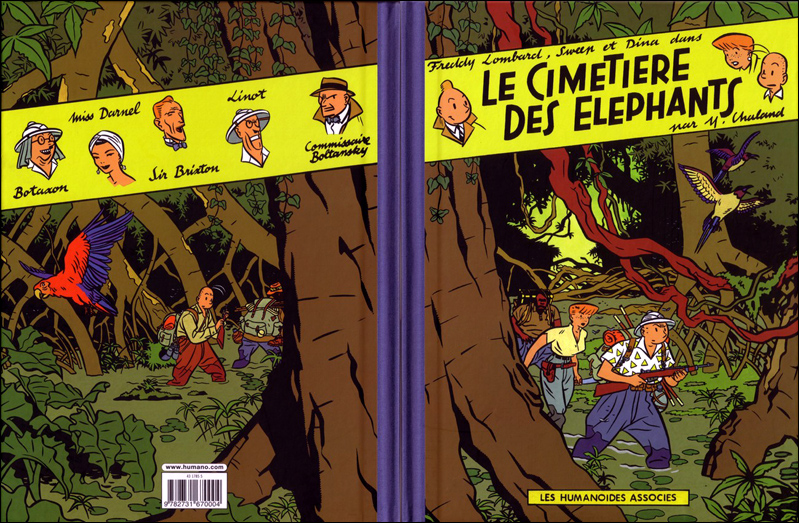 Freddy lombard le cimetiere des elephants rv