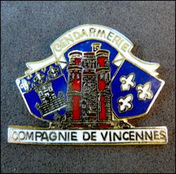 Gendarmerie compagnie de vincennes