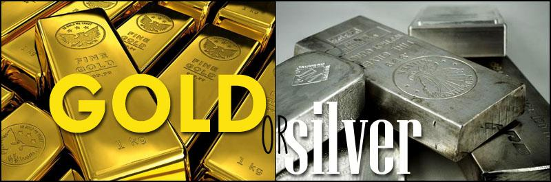 Gold or dilver titre