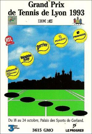 Gp tennis lyon 93 affiche
