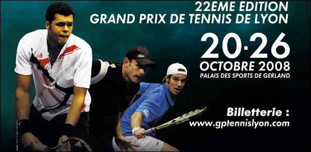 Grand prix de tennis de lyon 2008 accueil