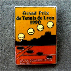 Grand prix de tennis de lyon matra communications 250