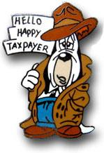 Hello happy tax payer