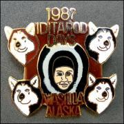 Iditarod days wassilia alaska 1987