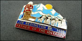 Iditarod john redington sr 1988
