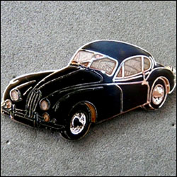 Jaguar xk 140 rose 250