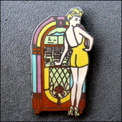 Juke box pin up 250