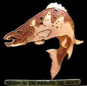 Jys saumon en parure de noce