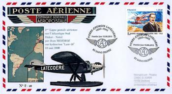 Latecoere timbre 2013 enveloppe premier jour