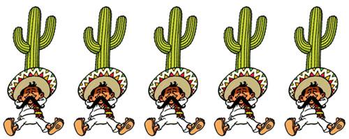 Le petit mexicain bandeau 5