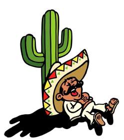 Le petit mexicain dessin